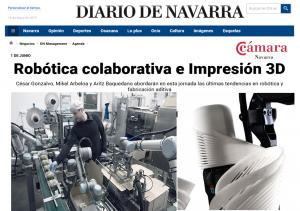Robótica colaborativa e Impresión 3D