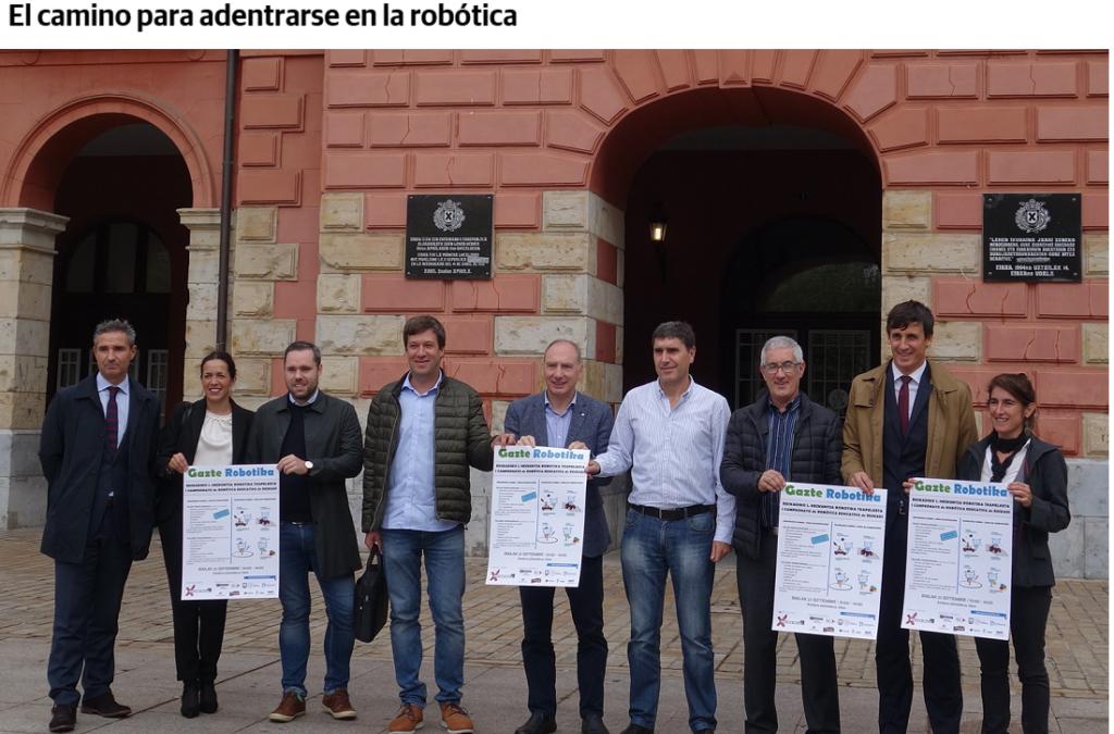 Iruña Tecnologías en el Primer Campeonato de Robótica Educativa de Euskadi. El camino para adentrarse en la robótica
