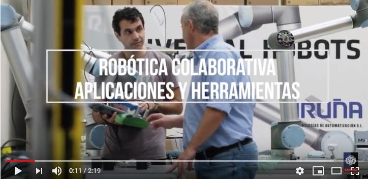 Iruña Tecnologías con la Robótica Colaborativa en las aulas de Navarra y Euskadi
