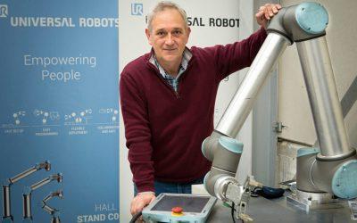 Iruña Tecnologías de la Automoción confirma el interés de las pymes por los robots colaborativos.