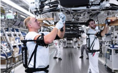 Exoesqueletos para las líneas de montaje.