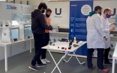 Sicnova y 3Dbide ponemos marcha el primer centro de formación para industria certificado por Ultimaker en España.