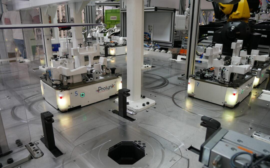 PROLYNK, plataforma adaptativa de fabricación flexible.